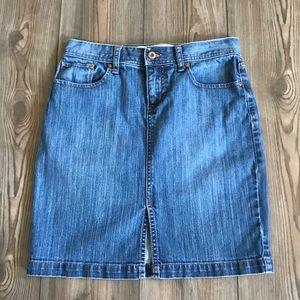 GAP Jean Denim Skirt Size 4